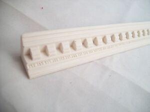 "Molding ""plaster dentil"" UMM23 dollhouse polyresin miniature 1/12 scale"