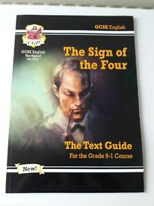 Details about CGP Grade 9-1 GCSE English Text Guide - The Sign of the Four  9781782948537