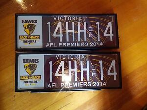 Hawthorn-Hawks-official-2014-AFL-Premiership-Vic-Roads-number-plate-14HH14