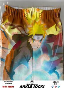 Naruto-Shippuden-Japan-Anime-Manga-TV-Show-Adult-Ankle-Socks