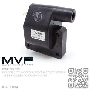 MPV-IGNITION-COIL-6-CYL-RB30E-amp-RB30ET-TURBO-3-0L-HOLDEN-VL-COMMODORE-JAPAN