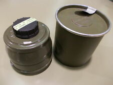 Military Surplus M58 40mm Gas Mask Filter Asbestos Free New Nos Sealed In Can