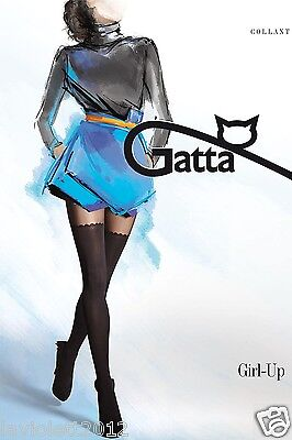 Sexy Strumpfhose Fantasia Girl-UP 11 von Gatta in Overkneeoptik