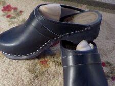 SKANE TOFFELN Wooden Clogs  Leather  Women 38