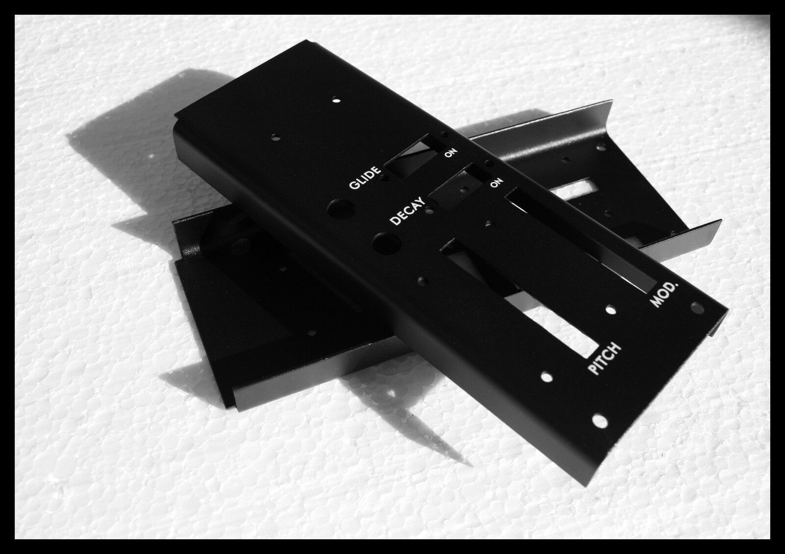 Controlador de mano izquierda Moog Minimoog Minimoog Minimoog reemplazo placa frontal (panel de sección de Rueda) a9ed33