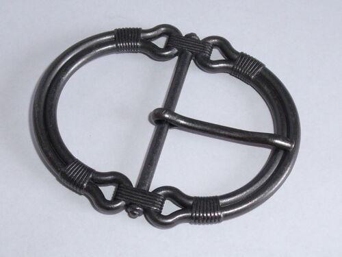 Adorno en la cintura cierro hebilla cierre de 3 cm nuevo antracita inoxidable #231.2#
