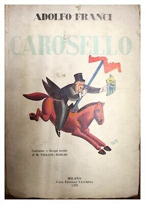 Ehrlich Karussell/adolfo Franci/startseite Verlag Castillo 1928 Gut FüR Energie Und Die Milz