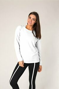 NEW-Soybu-Womens-Unity-Pullover-Athleisure-Terry-Sweatshirt-Sweater-Yoga-UPF-50