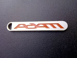 opel adam emblem schlüsselanhänger kettenanhänger keychains. inlay