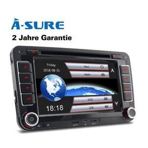 DVD-GPS-Autoradio-fuer-VW-Passat-B6-Golf-5-6-Touran-Polo-Skoda-Octavia-EOS-Navi