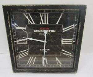 Kensington-Station-London-1873-Replica-Wall-Clock-40x40cm-WAR-S18