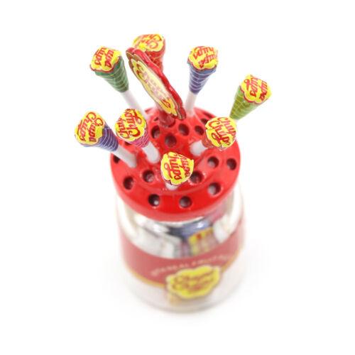 1:12 Dollhouse Miniature Simulation Food Mini Lollipop With Case Hold T/_ AE