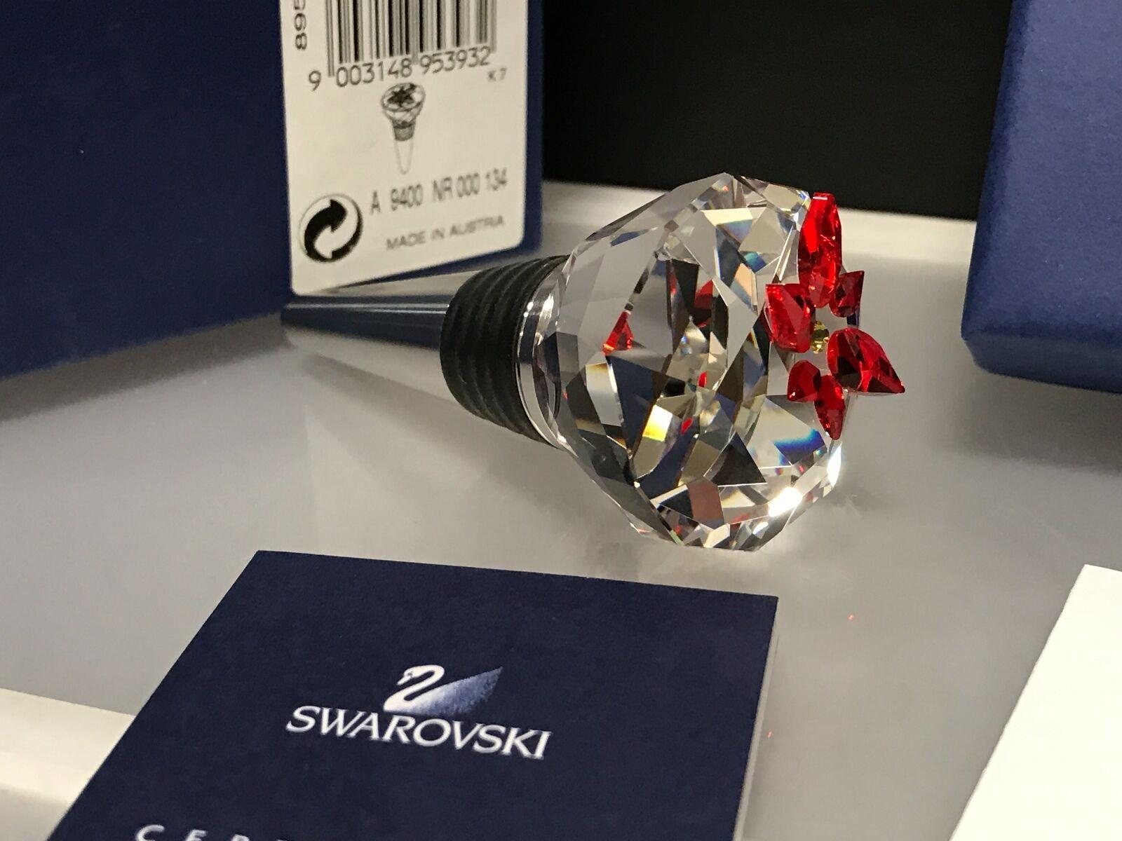 Swarovski Figur Flaschenverschluss   Christstern. Mit Ovp & Zertifikat.