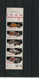 USA-Markenheft-MiNr-1997-2001-postfrisch-MNH-Auto-R341