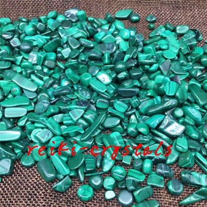 100g-Tumbled-A-Natural-Malachite-Stones-Gemstones-Reiki-Healing-Crystal
