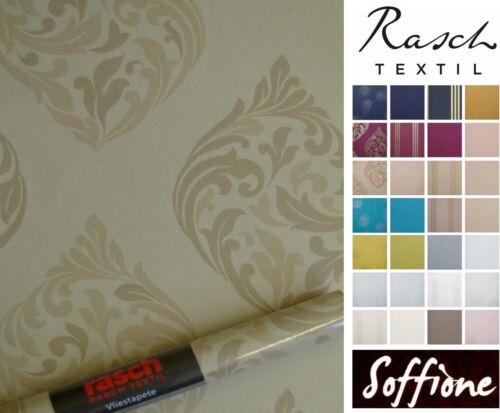 "brown SALE Vlies Tapete /""SOFFIONE 295336 Ornament l Rasch Textil UVP € 49,50"