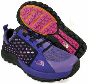 The-North-Face-Women-039-s-Sz-9-5-Mountain-Sneaker-Shoes-Vigorous-Violet-Rose-Violet