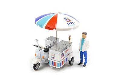 Tiny City Hong Kong Yan Chim Kee Ice Cream Motorcycle Diecast Model