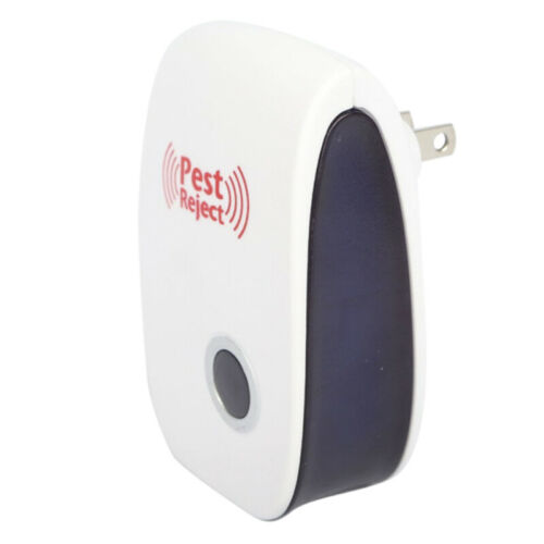 Electronic Ultrasonic Pest Reject Bug Mosquito Cockroach Mouse Killer Repel BF