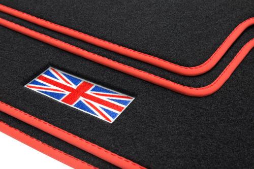 Union Jack Fußmatten für Mini 3 III 3-Türer F56 Bj 03//2014