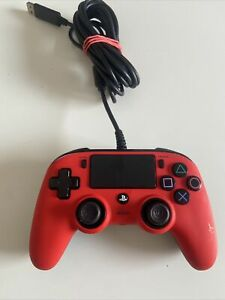 CONTROLLER NACON WIRED PS4 CON FILO PAD PLAY STATION 4 / PC ROSSO JOYPAD