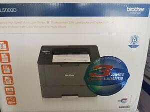 Brother-HL-L5000D-Laserdrucker-Drucker-USB-inkl-XL-Toner-kompatibel-NEUGERAT