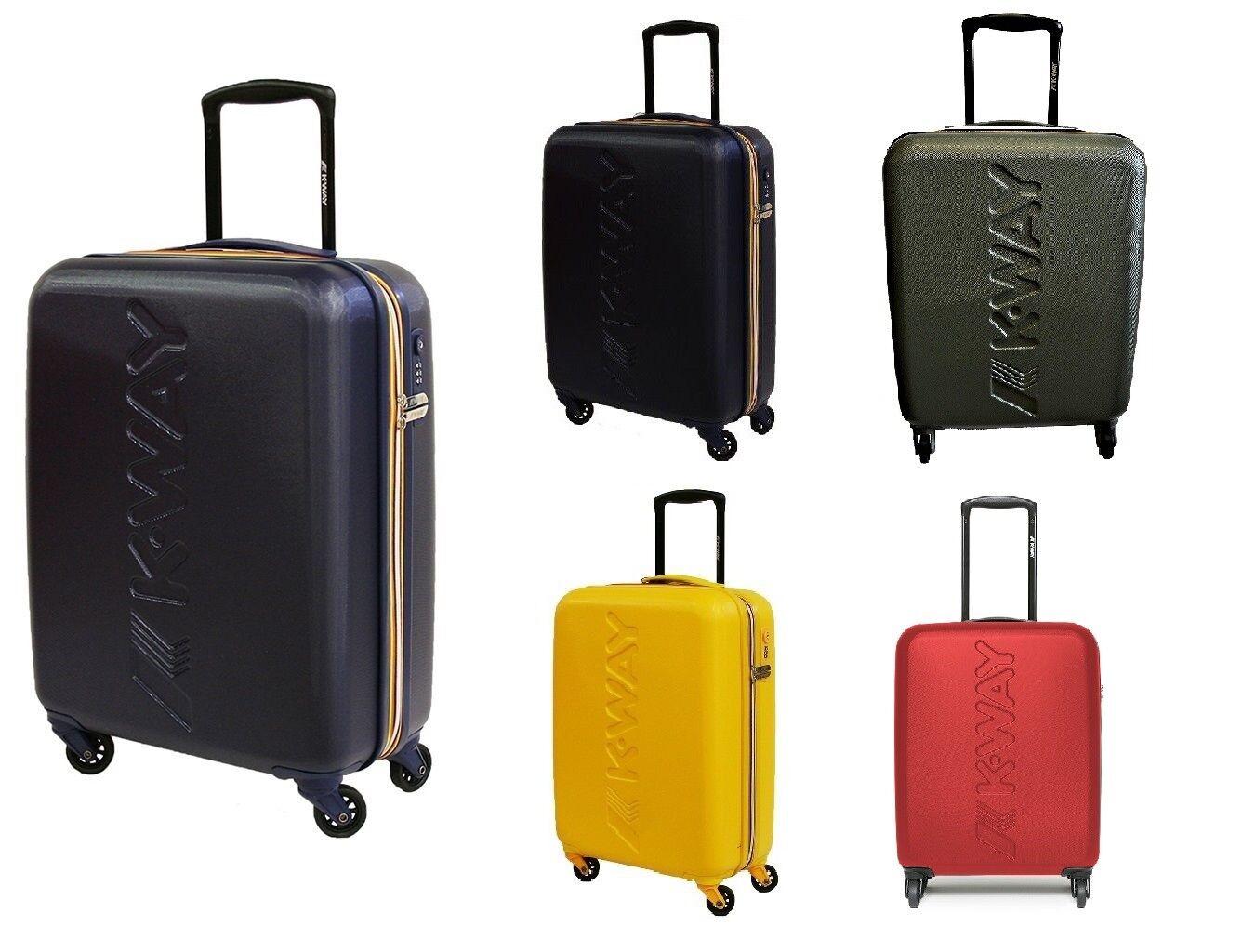 c95243804 Trolley K WAY Bagaglio a a a mano Ryanair rigido 4 ruote K1G01 55x40x20  94c9fc