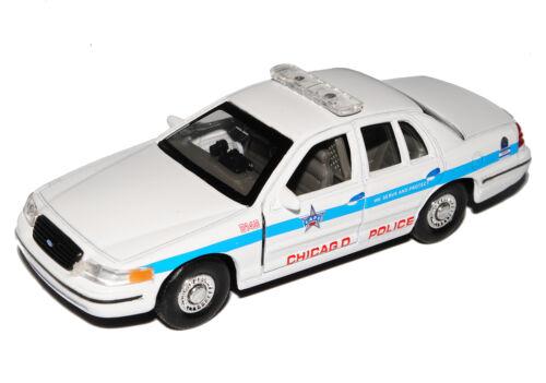 FORD Crown Victoria POLIZIA POLICE Chicago 1997-2011 ca 1//43 1//36-1//46 Welly M..