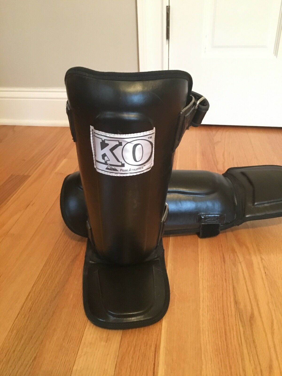 Shin guards, KO Pro-style pads -  Pro-style for additional predection.  cheapest price