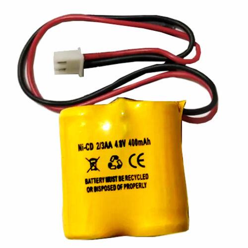 4.8v 400mAH Battery NiCd MK Power MH2967 BST 3AA400MAH Exit Sign Emergency Light