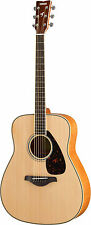Yamaha FG840 Acoustic Guitar - Natural INCLUDES FREE STRAP