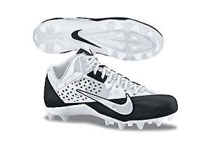 Nike Alpha Strike D - White/White-Black - Size 10