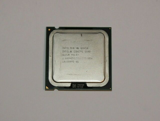 Intel Core 2 Quad Q9450 2,66 GHz Quad-Core Prozessor + Wärmeleitpaste