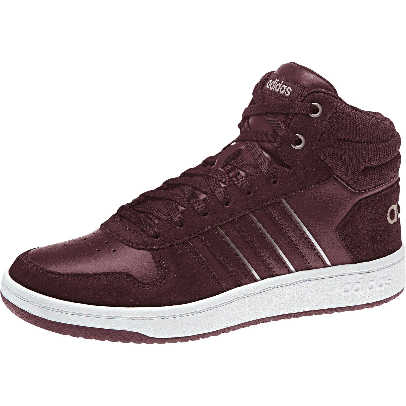 Adidas damen schuhe Casual Turnschuhe Fashion Hoops Mid Trainers Running New B42108