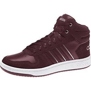Details zu Adidas Damen Freizeitschuhe Sneakers Mode Hoops Mid Laufschuhe Neu B42108
