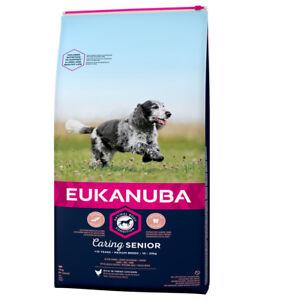 EUKANUBA-15-kg-Mature-Senior-Medium-Hundefutter-fuer-aeltere-mittelgrosse-Hunde