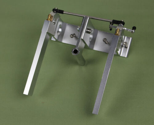 140mm. White Pack of 5 Lock Rudder Struts