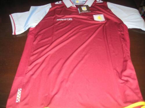 Aston Villa 2012//13 ACCUEIL SHIRT à manches courtes balises X Large Garçons