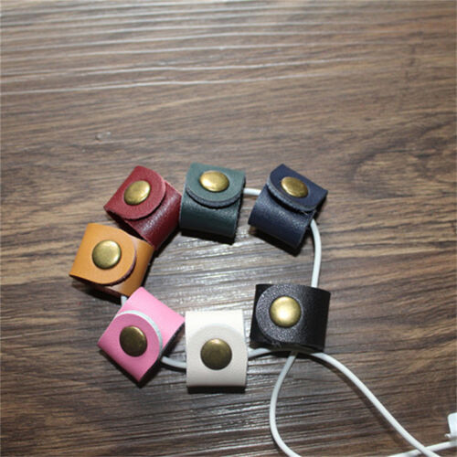 Exquisite Headphone Cable Cord Winder Wrap Holder Earphone Earbud Organizer QP