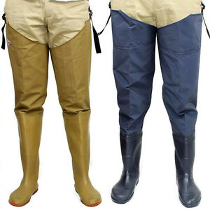 Outdoor-Catch-fish-Waterproof-Fishing-Hunting-Water-Boot-Wading-Pants-Overalls