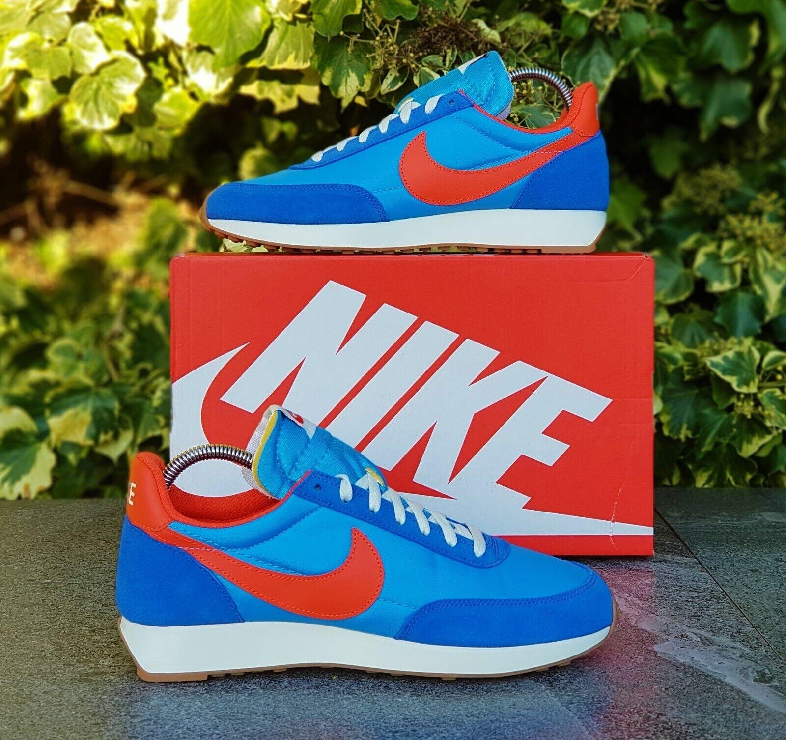 BNWB & Genuine Nike ® Air Tailwind 79 Vintage Retro Blau Trainers UK Größe 7