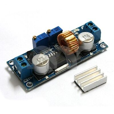Adjustable 1.25-36V 5A Step Down LED Drive Power Module Constant Current Voltag