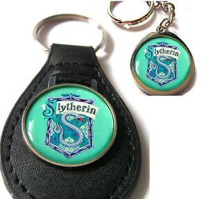Slytherin-CASA-JK-Harry-Potter-Llavero-Llavero-Regalo