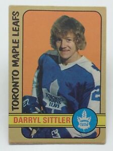 1972-73-O-Pee-Chee-Darryl-Sittler-188-Toronto-Maple-Leafs-Ice-Hockey-Card-E433