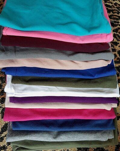 NEW LOOK ou h/&m Plus Longueur en Coton Extensible Débardeur Tops ou T Shirt//Manches 3//4 16