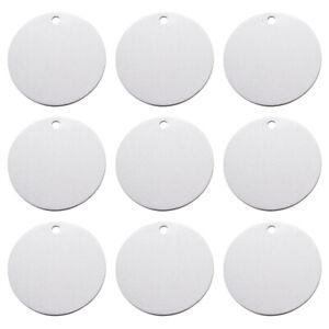 20x-Aluminium-Laser-Cut-Pendants-Flat-Round-Blank-Stamping-Tag-Charms-47-5x1-5mm