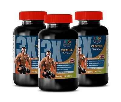 Fast Gain Weight - CREATINE TRI-PHASE 3X 5000mg - Muscle Building  Supplements 3B | eBay