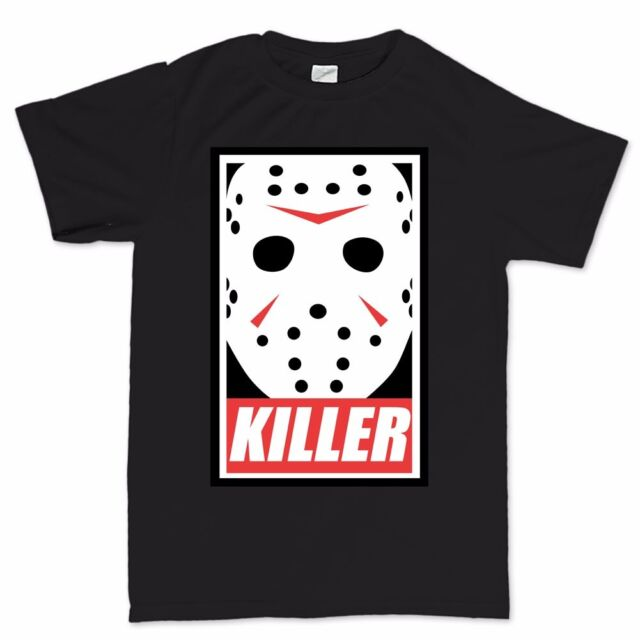 Jason Voorhees Friday 13th Obey Halloween Costume Mens Womens Kids T shirt