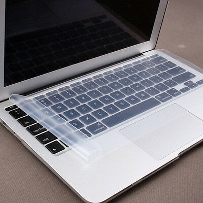 """12.4""""X5.31"""" Universal Cover Laptop Keyboard Skin Soft Silicone Protector Fashion"""