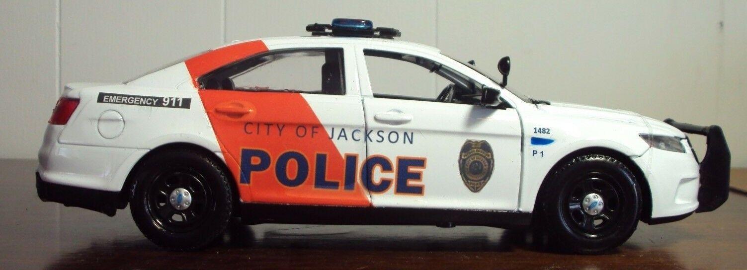 Jackson Mississippis polis 2013 Ford Police Interceptor 1 24 Scale, Motor Max
